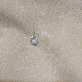 925silver Natural Opal stone pendant