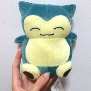 New SNORLAX PLUSH TOY $8 EACH ONLY! TOO CUTE NOT TO OWN ONE!!!