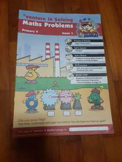 +Venture in Solving Maths Problems Primary 4