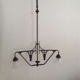 Dutch colonial antique lamp