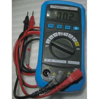 Digital Multimeter with bright backlight