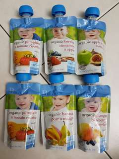 Bellamy's baby food