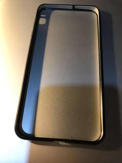 iPhone 7 Plus Black Bumper Case