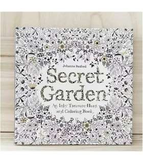 Secret Garden Adult Colouring Book Johanna Basford