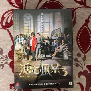 Hong Kong Drama DVD (Heart and Greed 3)