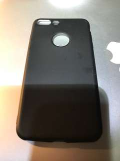 iPhone 7 Plus matte case with logo cut out