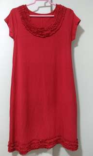 Brand New Red Lycra Cooling Dress