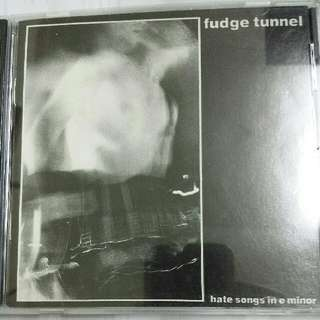 Music CD: Fudge Tunnel ‎– Hate Songs In E Minor - Alternative Metal, Earache Records