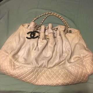 Chanel 大CC 掛飾 餃子袋布袋