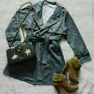London midi coat