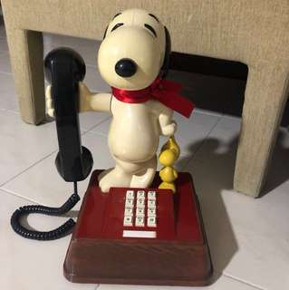 VINTAGE SNOOPY TELEPHONE