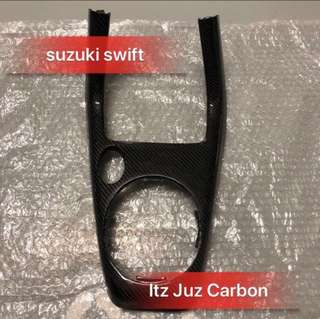 Suzuki swift carbon Gear panel