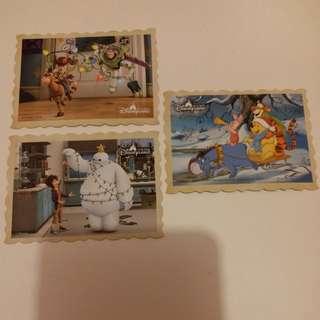 Baymax醫神/Toys Story反斗奇兵/Winnie The Poon小熊維尼/Disney/Disneyland/迪士尼貼紙
