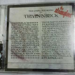 Music CD: The Stranglers ‎– (The Gospel According To) The Meninblack - New Wave, Punk