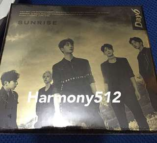 Day 6 Sunrise CD