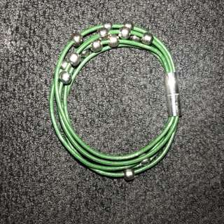Dark Green Magnetic Bracelet