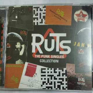 Music CD: The Ruts ‎– The Punk Singles Collection