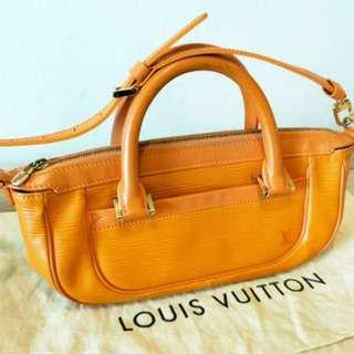 Louis Vuitton LV Authentic Epi Leather Bag w/ Strap