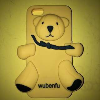 iPhone 5/5s Yellow bear case