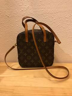 Lv Monogram Spontini Satchel Bag with Crossbody Strap