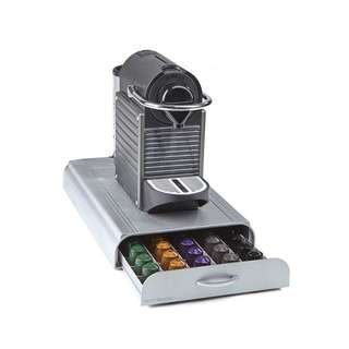 Mind Reader 'Anchor' Nespresso Capsule Storage Drawer 50 capacity, Silver
