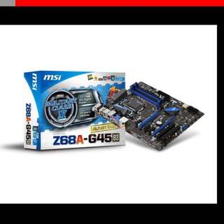 MSI Z68A-G45 Motherboard