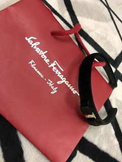 Authentic salvatore ferragamo headband