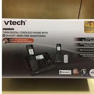 VTech 數碼室內無線電話雙子機組合連VSmart無線家居監控 VC151-202A