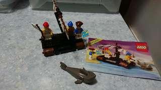 Lego#6257海盜艇