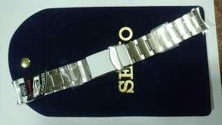 SEIKO全新鋼錶帶