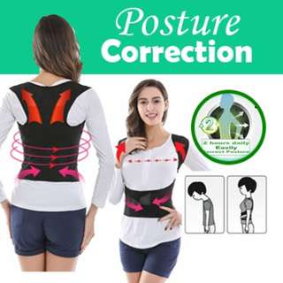 💌 #i4 New Posture Back Shoulder Lumbar Corrector Support Brace Belt Therapy Adjustable XXL