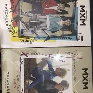 全新未拆過 MXM <MATCH UP> A,B版 1 set