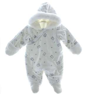 Baby Footed Winter Snowsuit