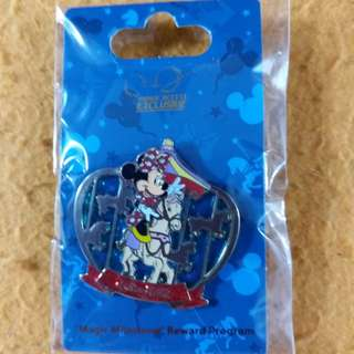 Hong Kong Disneyland Pin 香港迪士尼襟章 Magic Access exclusive 入埸7 次