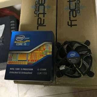 Intel i5 2500k 3.3ghz Processor