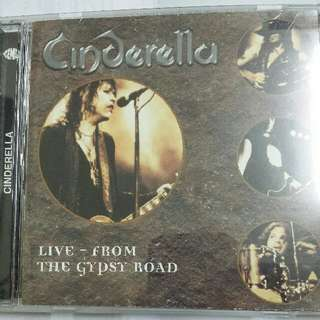 Music CD: Cinderella  ‎– Live From The Gypsy Road