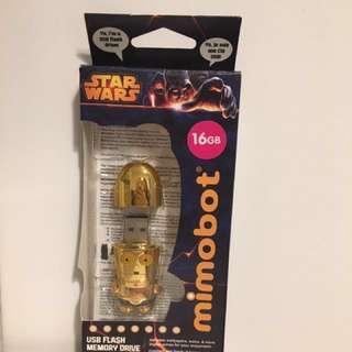 Star Wars C3PO USB 星戰