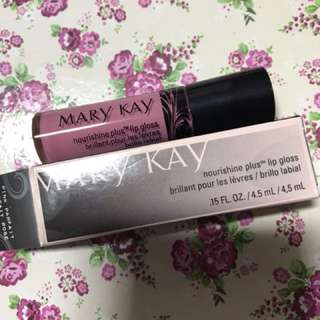 mary kay nourishing plus lipgloss - pink parfait