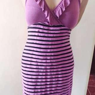 Purple Sexy Dress