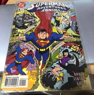 Superman adventures annual #1 1997 (DC comics)