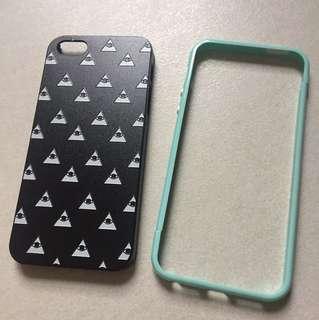 iPhone case 5 5s 2個