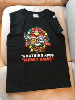A Bathing Ape Merry Xmas Tee