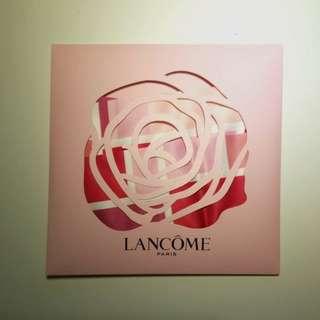 全新Lancome絲巾可包袋手挽位或絲巾用