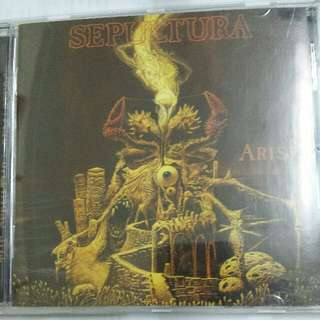 Music CD (Metal): Sepultura ‎– Arise