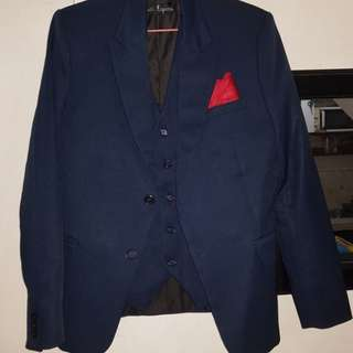 Formal suit perfect for wedding (Navy Blue)