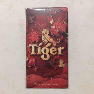 Tiger Beer red packets