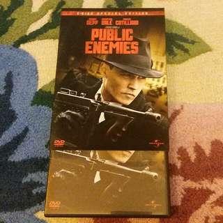 DVD Public Enemies