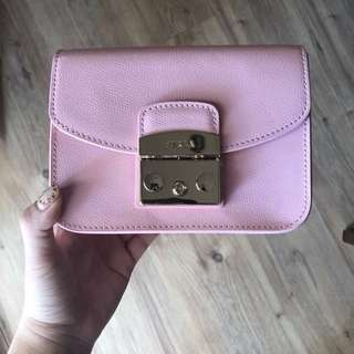 *Ready stock* Authentic Furla snow pink