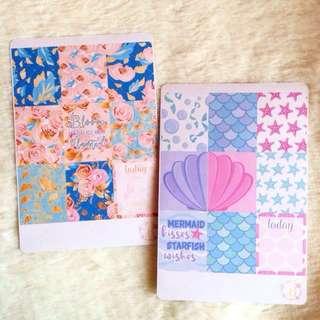 Stickers | Floral | Mermaid