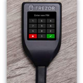 TREZOR Model T (Exclusive Model not Ledgerwallet) Hardware Wallet